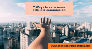 how to make affiliate commissions