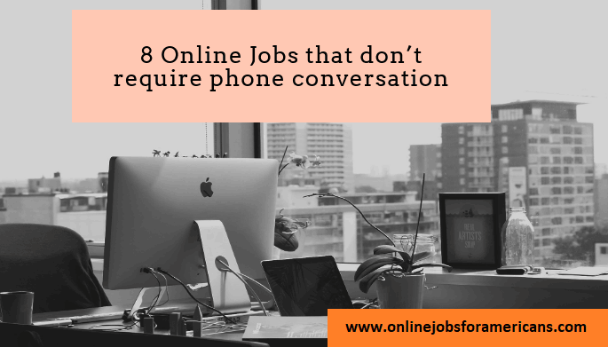 online jobs that don't require a phone