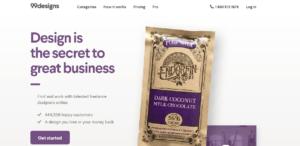 best freelance sites - 99 designs