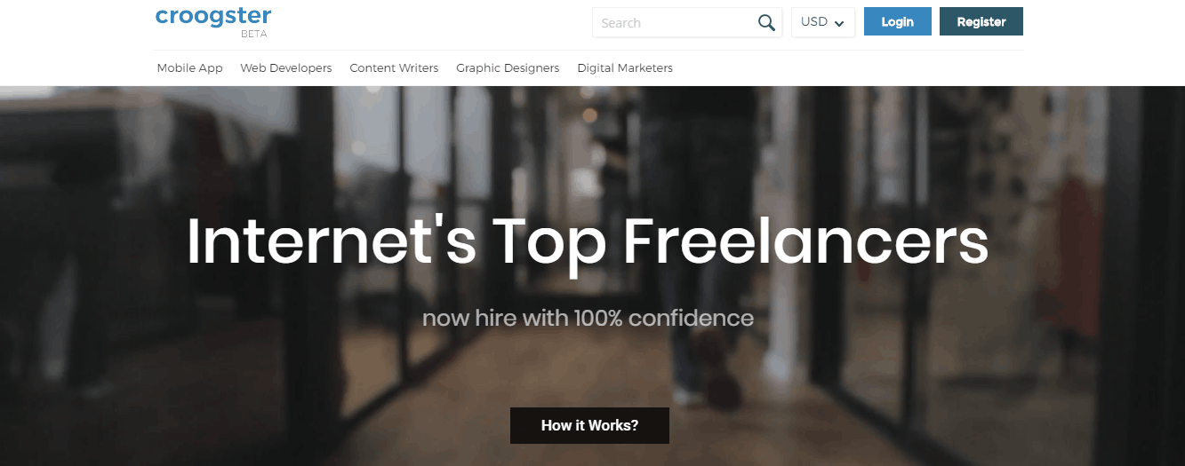 best freelance sites - croogster