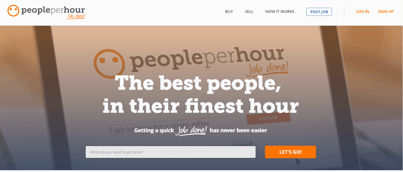 best freelance sites - people per hour