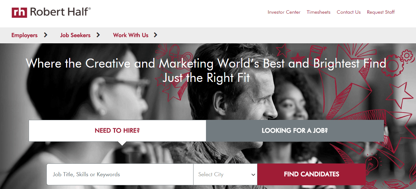best freelance sites - the creative group