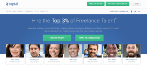 best freelance sites - toptal