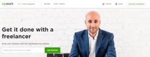 best freelance sites - upwork