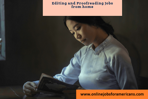 editing and proofreading jobs online