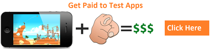 get paid to test apps and websites
