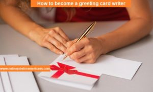 greeting card writer