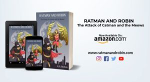 ratman and robin the attack of catman and the meows book
