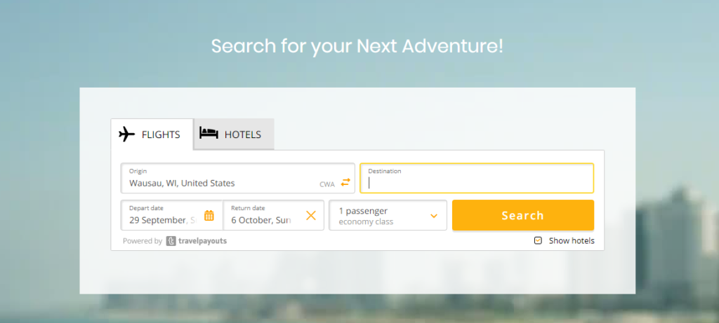 traveldium website